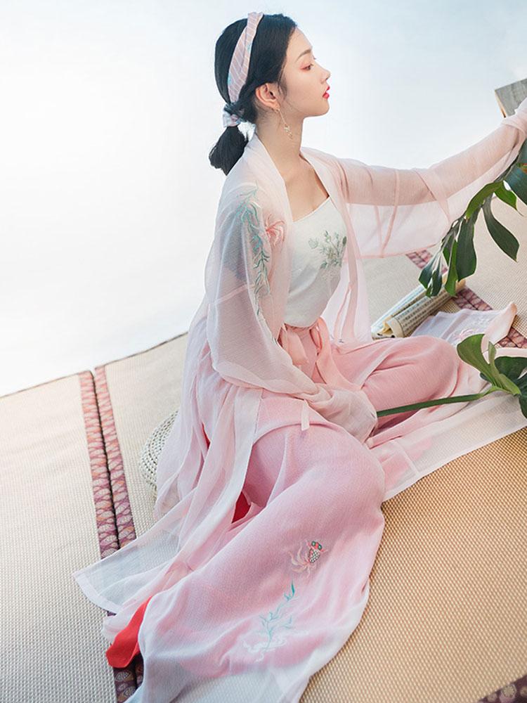 Shop Hanfu Pants Clothing