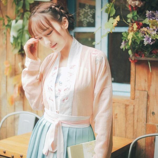 azalea flower hanfu shop