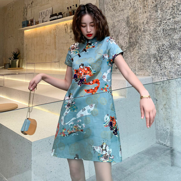 blouse qipao dress shop