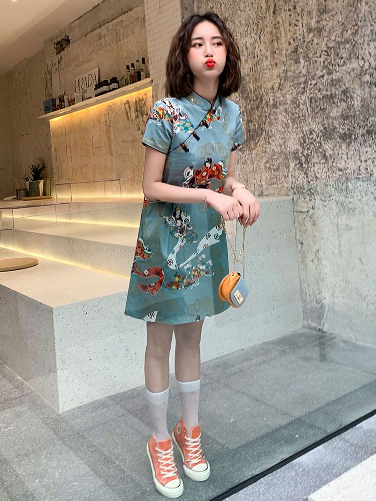 blouse qipao dress buy