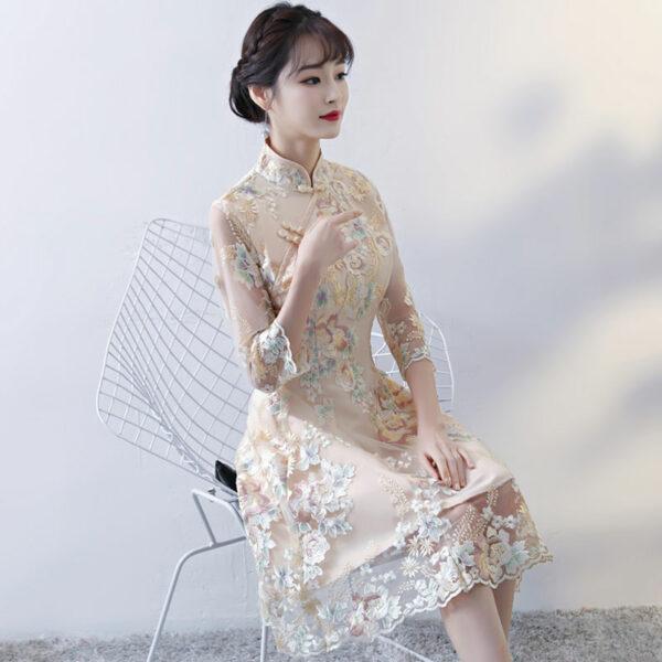 evening qipao dress buy