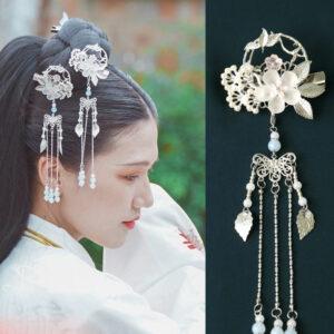 flower lovers hanfu hairpin jewelry