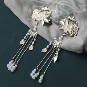 flower lovers hanfu hairpin jewelry