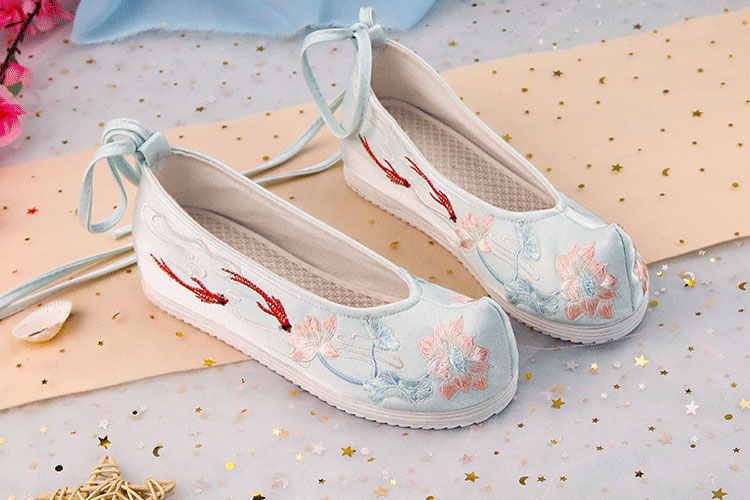 goldfish hanfu flats shoes