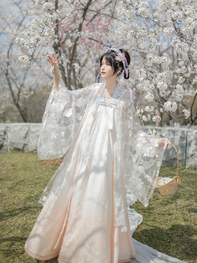 hanfu fairy ruqun green