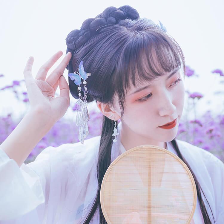 hanfu wigs hairstyle