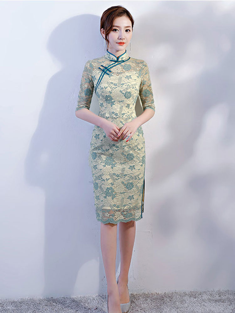 lady cheongsam dress
