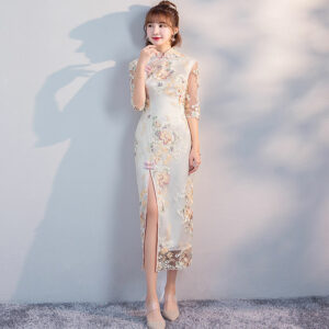 long cheongsam dress shop
