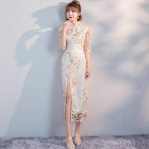 long cheongsam dress shop