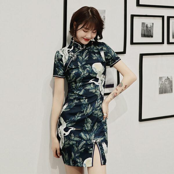 modern fashion qipao dress shop