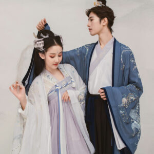 peacock cloud male hanfu
