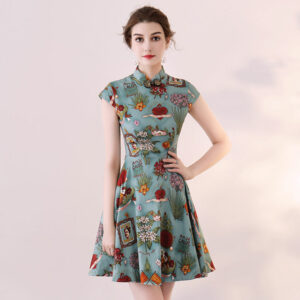 summer qipao dress shop