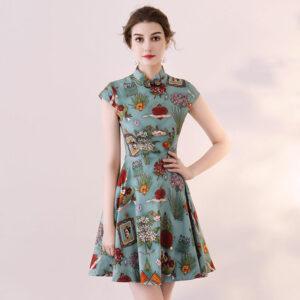 summer qipao dress shop