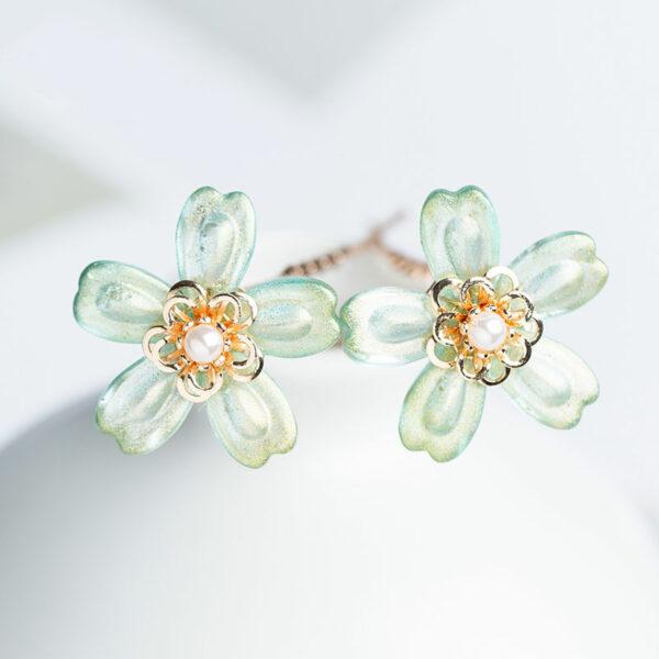 wild flowers hanfu jewelry