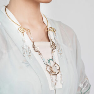 wreath necklace hanfu jewelry shop