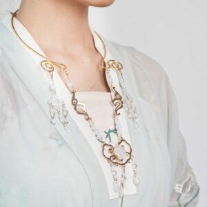 wreath necklace hanfu jewelry shop