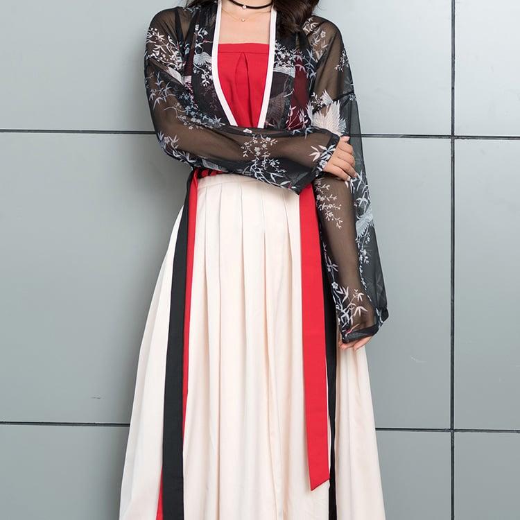 Fashion Crane Hanfu Buy