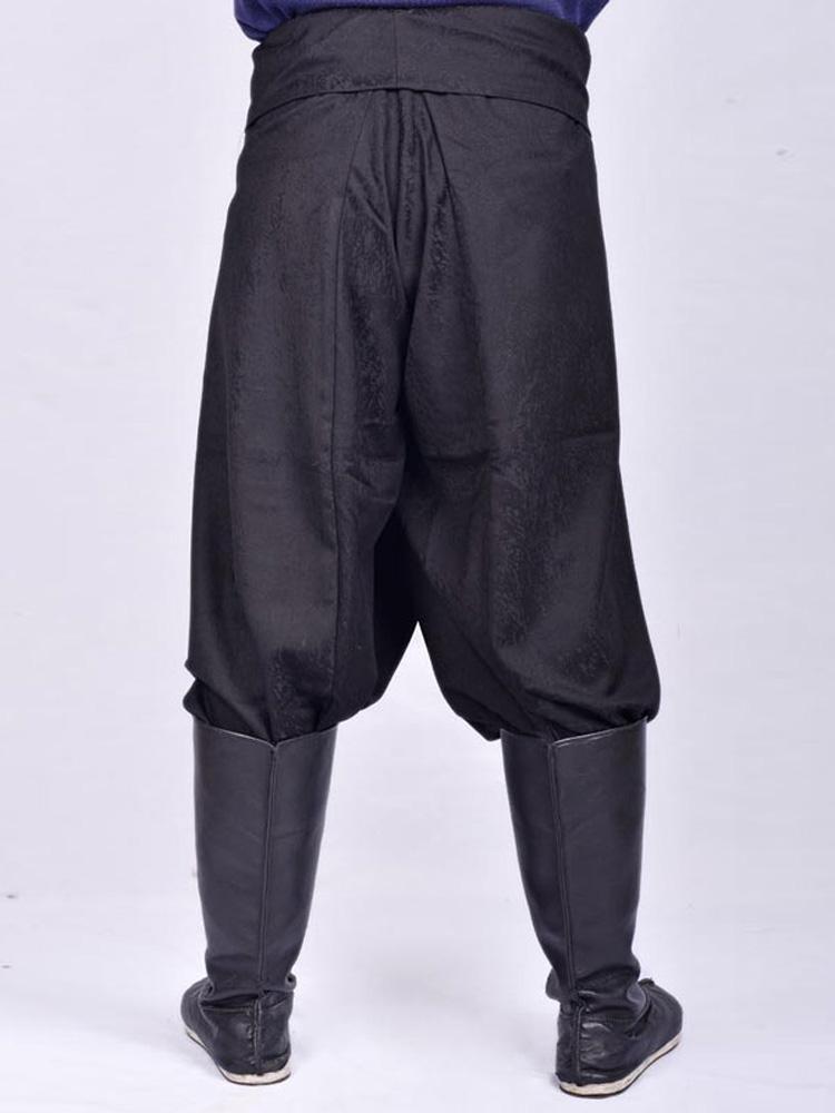 male kungfu pants hanfu