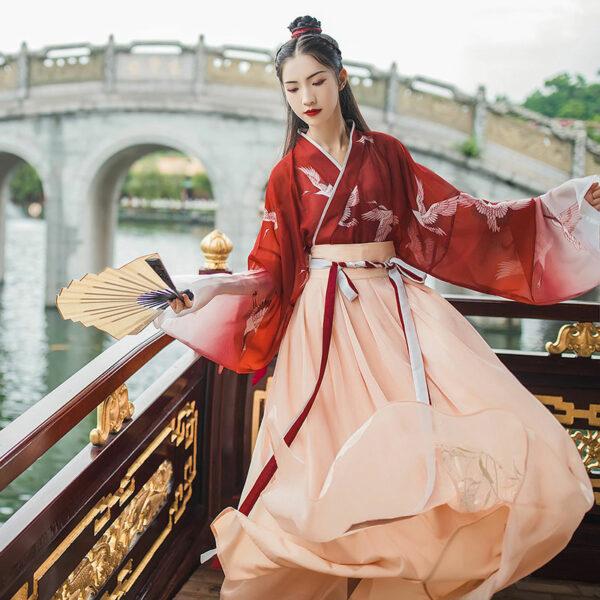 crane girl ruqun hanfu buy
