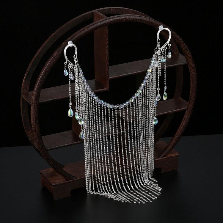 tassel veil hanfu jewelry buy