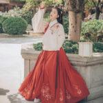 Hanfu-Aoqun-Red Hibiscus-03