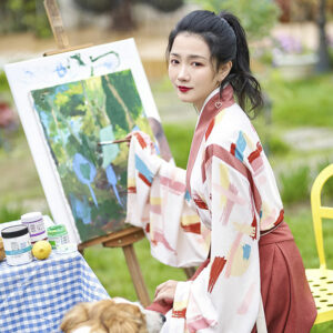 shop hanfu water color