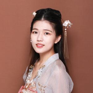 Twin Flower hanfu jewelry buy