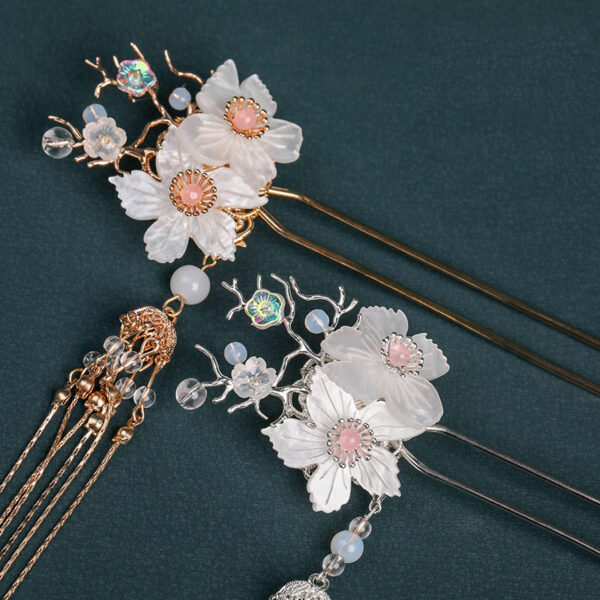 Twin Flower hanfu jewelry buy
