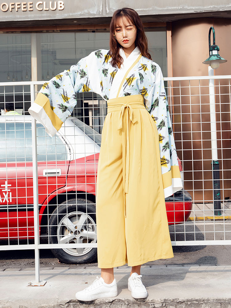 street fashion modern hanfu