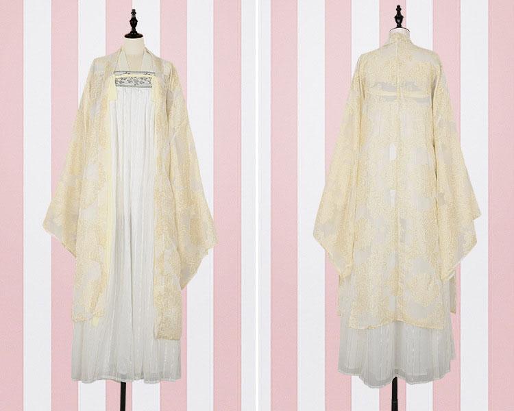 tang dynasty hanfu dress