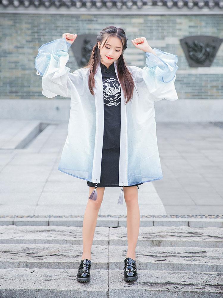 tiger qipao dress