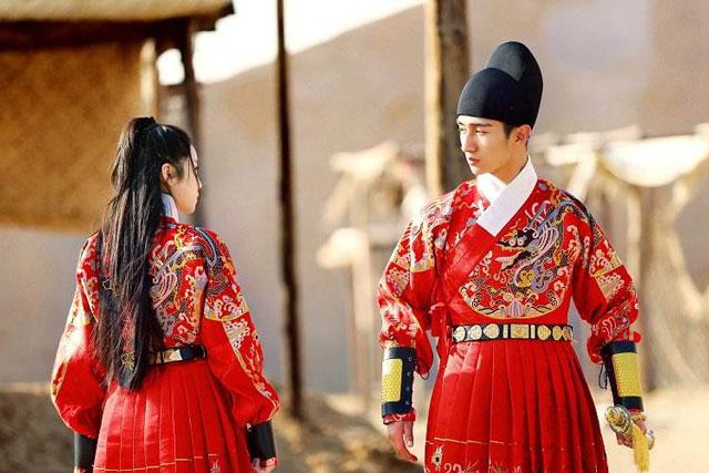 feiyufu hanfu male robe
