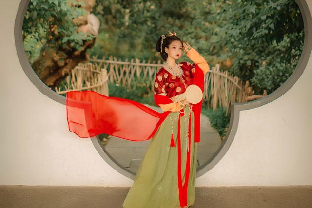tang dance hanfu skirt
