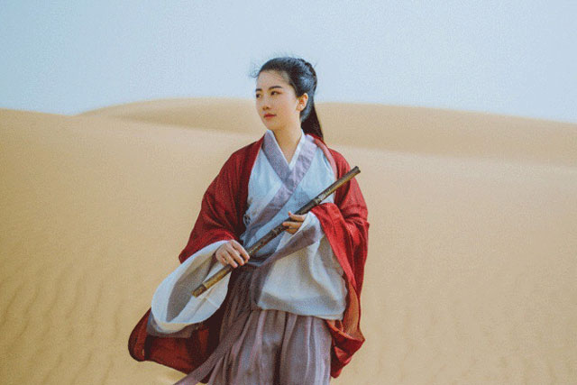 wei jin dynasty hanfu dress