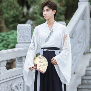 dragon fish hanfu male