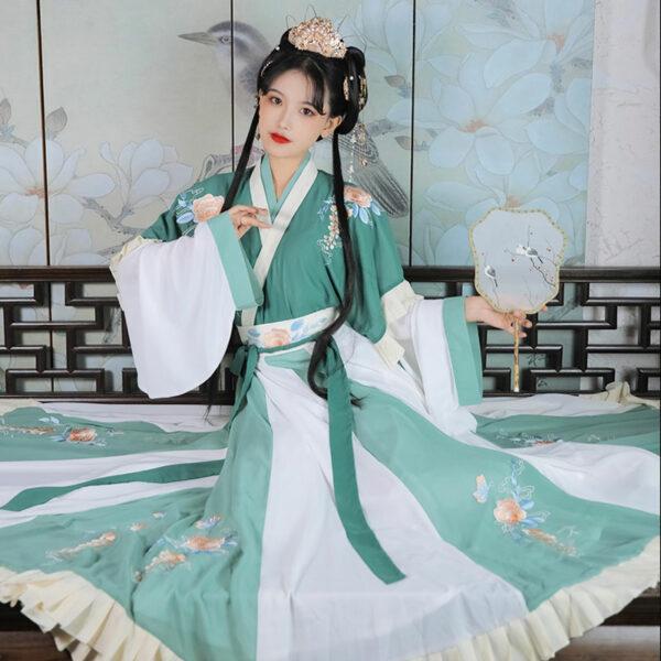 Butterfly Peony ruqun hanfu shop
