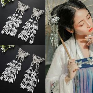 Butterfly Tassel shop hanfu jewelry
