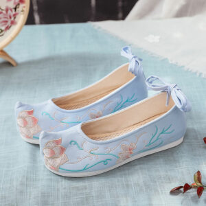 Lotus Stem hanfu shoes buy