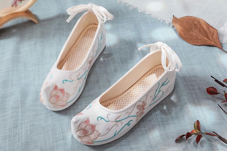 Lotus Stem hanfu shoes buy