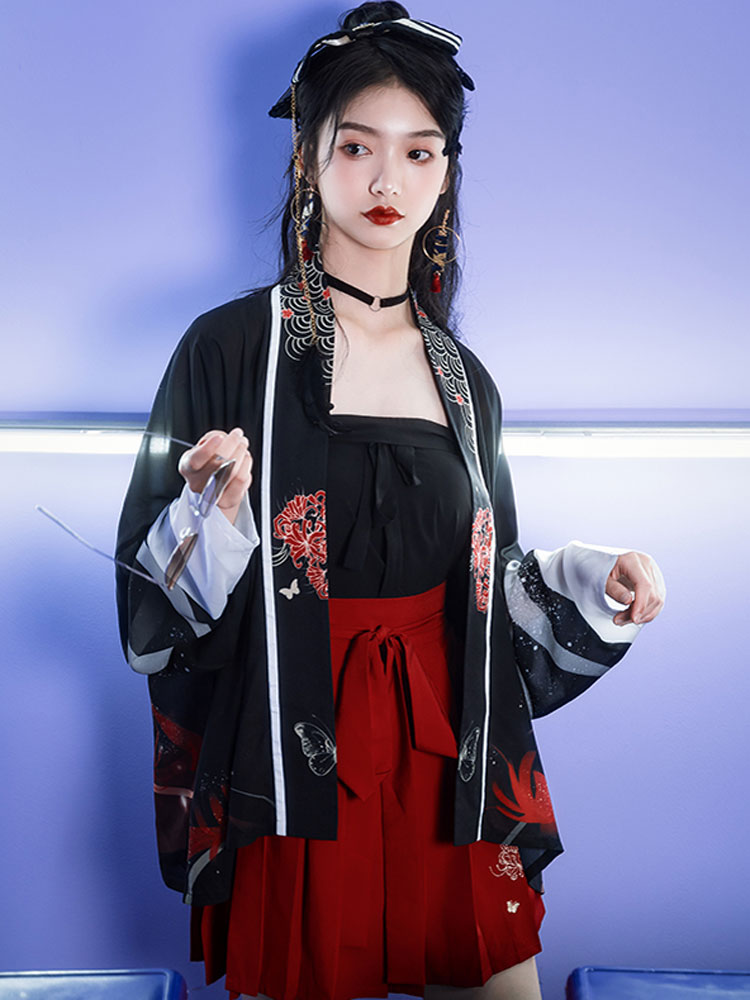 Night Flower modern hanfu