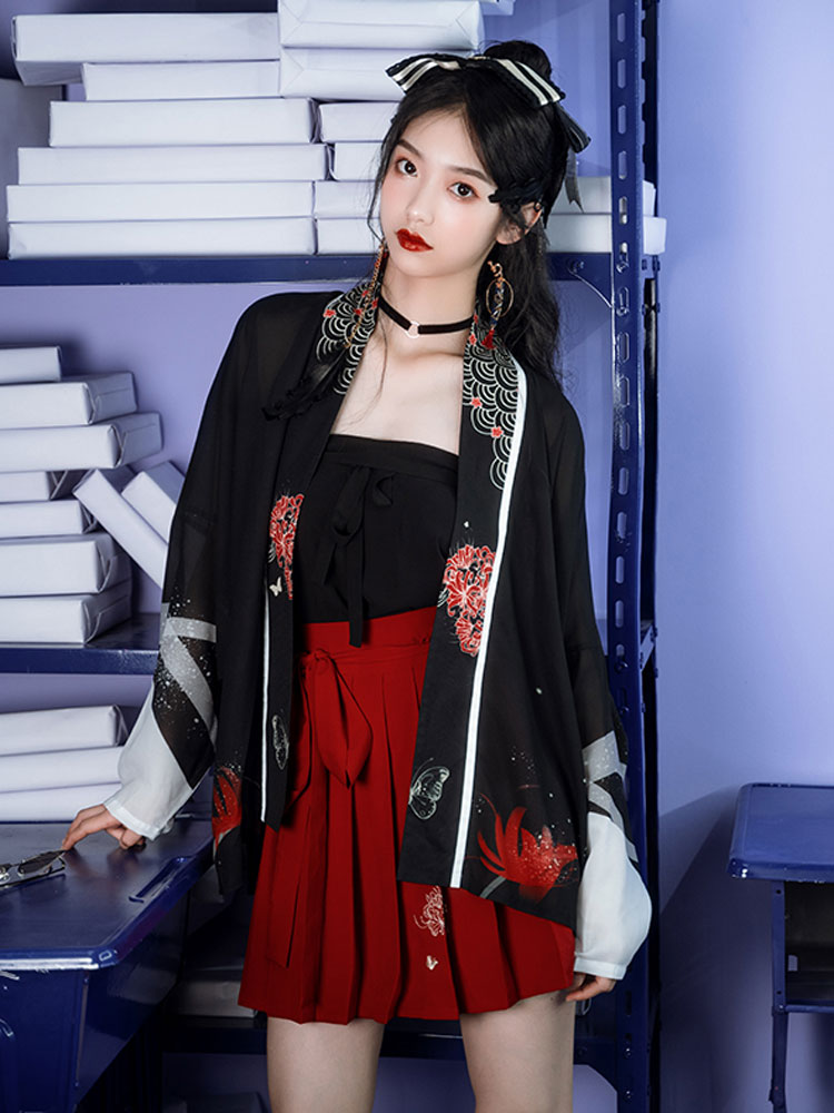 Night Flower modern hanfu