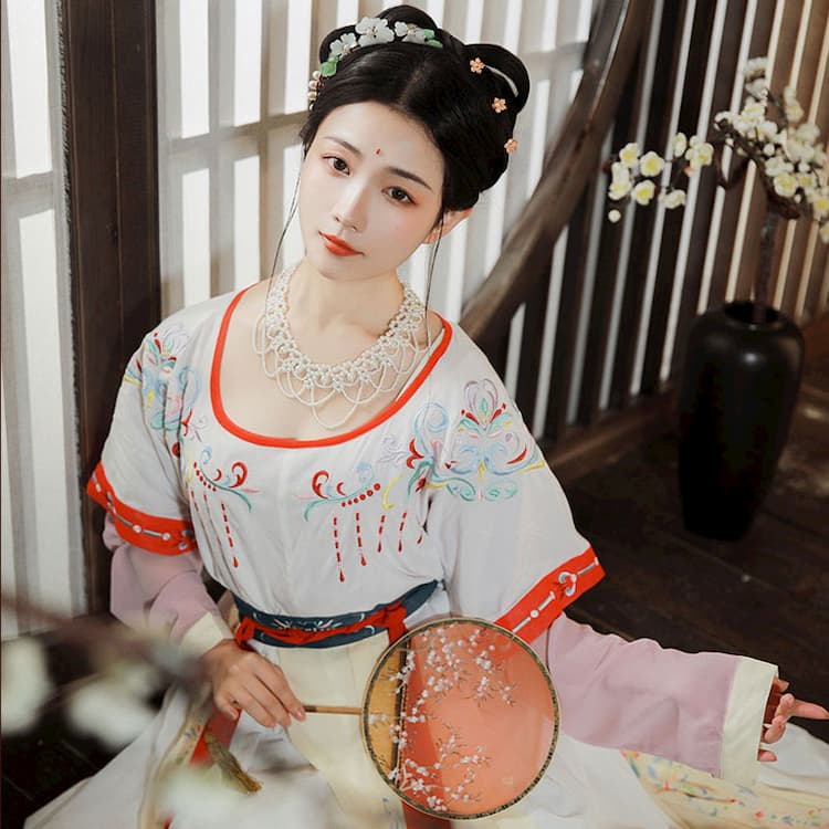 Court Dancer hanfu girls ruqun