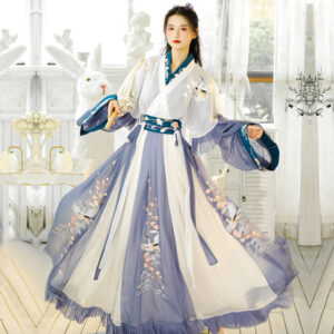 Shop Hanfu Triple Crane