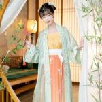 Green Butterfly summer hanfu