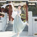 Palace Girl hanfu dress