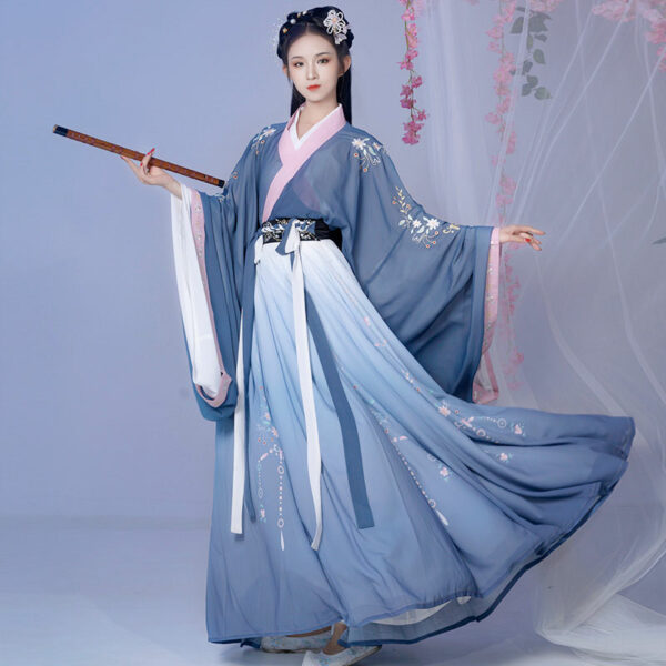 Blue Poem casual hanfu