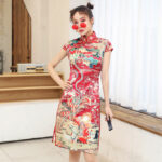 Meet Village modern qipao dress