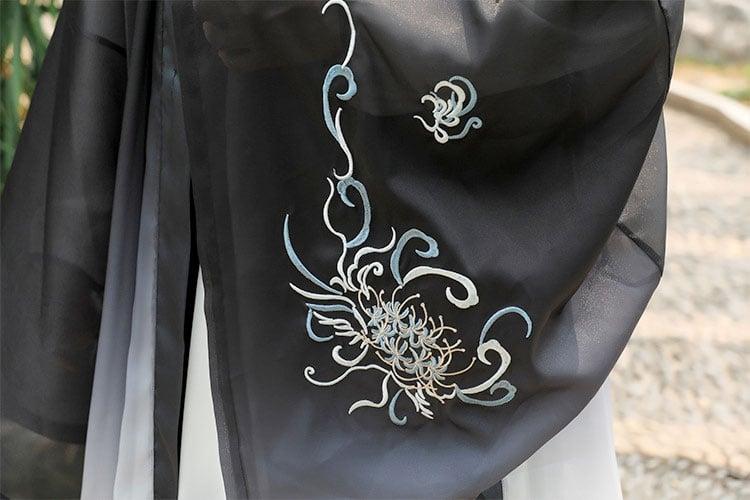 Ink Kirin male hanfu