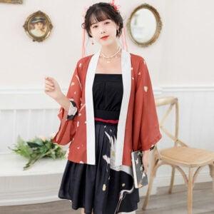 Flying Crane hanfu dress