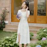 Lace Snowball newhanfu